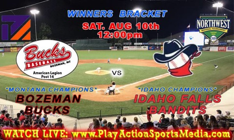 Watch the Bucks live stream today vs. Idaho Falls at 1 p.m. Mountain Time at www.playactionsportsmedia.com.