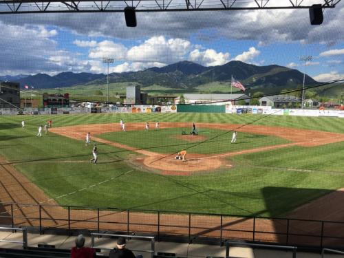 Legion Field at Hereos Park - Copyright Bozeman American Legion Baseball